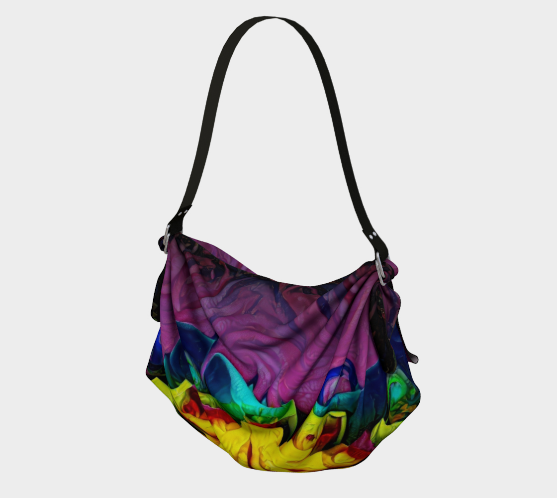 Venusian Lily Fruit Origami Tote preview
