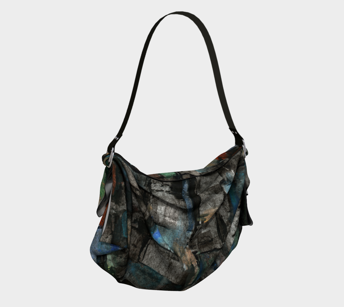 Ancient Ruins Origami Tote preview #2