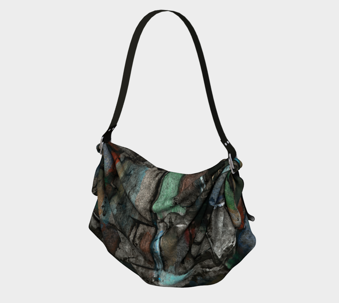 Ancient Ruins Origami Tote preview