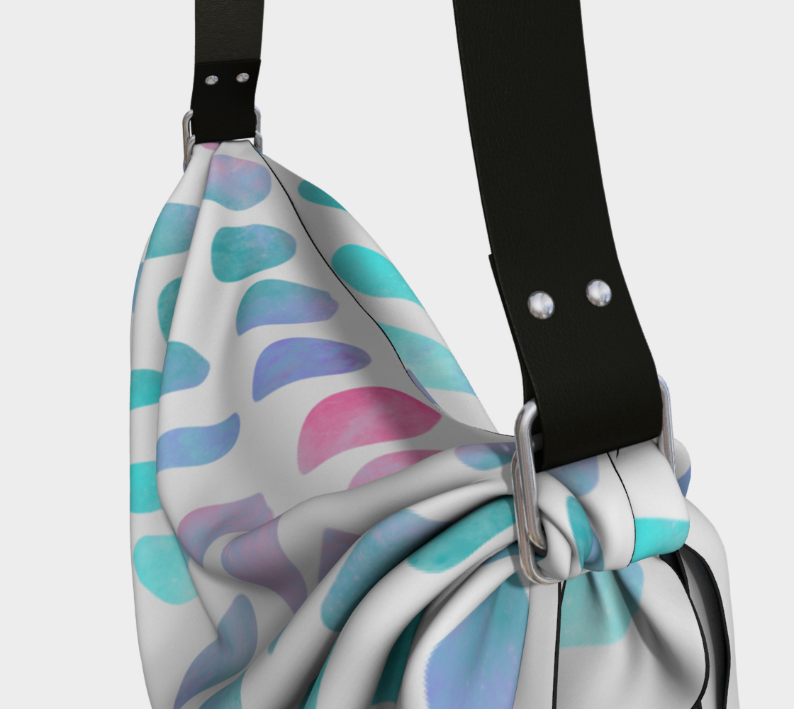 Pink and Blue Cotton Candy Origami Tote preview #3