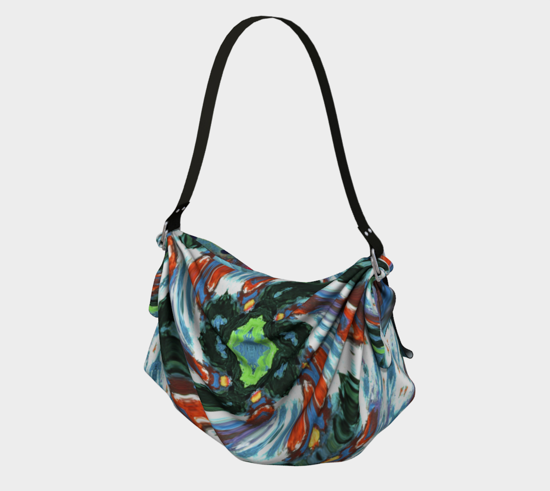 Swansea Rope-Burst Origami  Tote preview