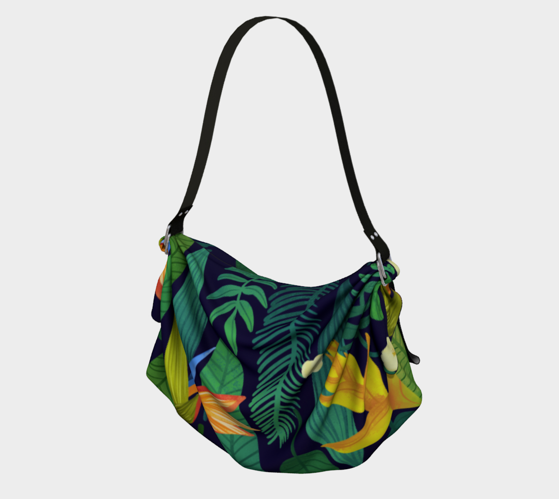 Colorful Exotic leaves pattern preview
