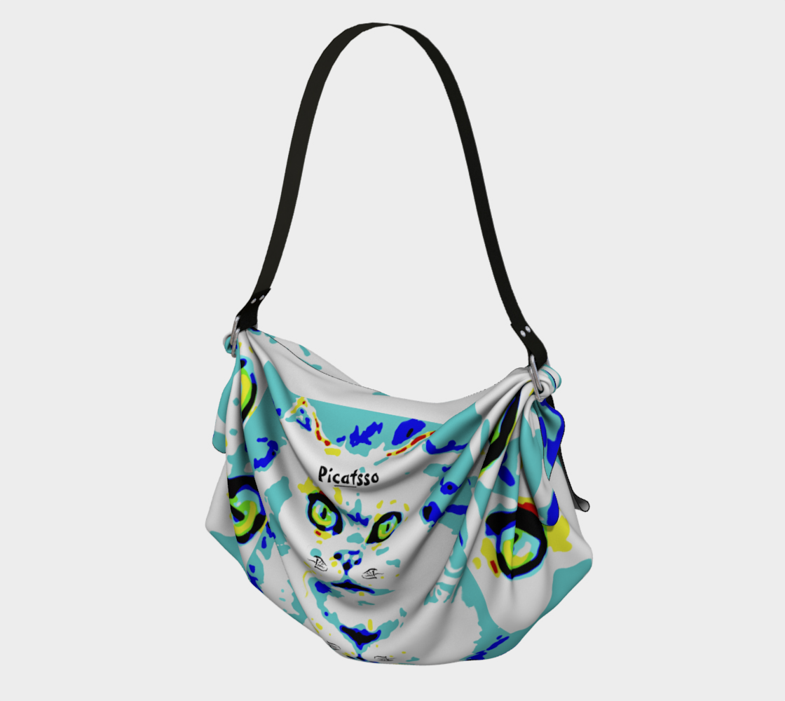 Picatsso / Official Crazy Catnip Dance Paw-tograph Tote preview