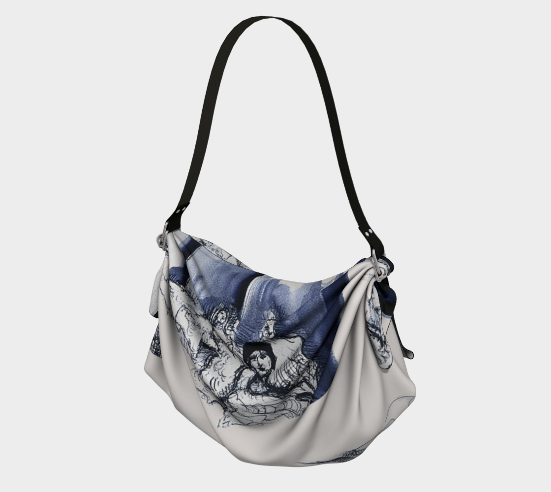 Place Blanche Origami Pen & Ink Tote preview