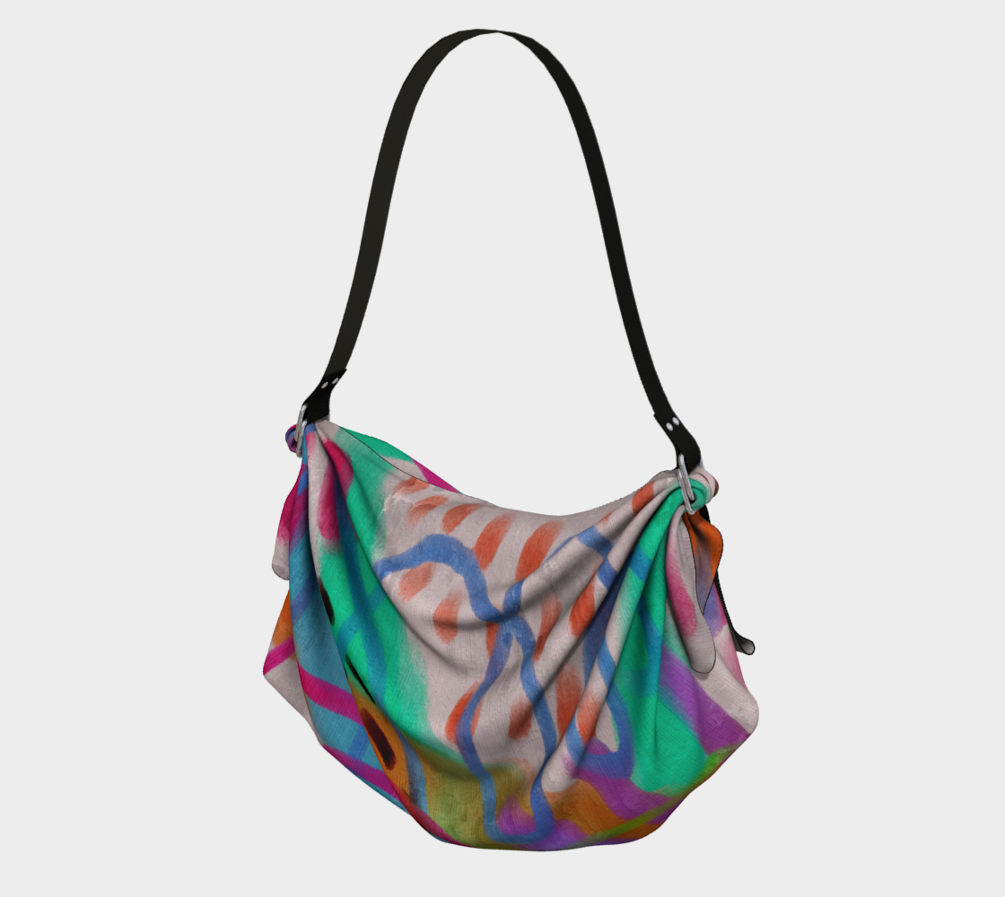 It's a Party Abstract Art Tote Bag preview