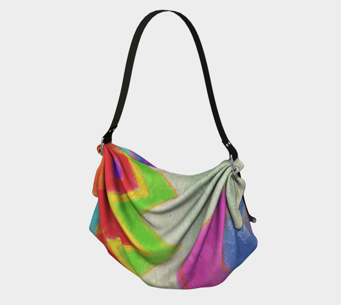 Summer Daze Abstract Art Tote Bag preview