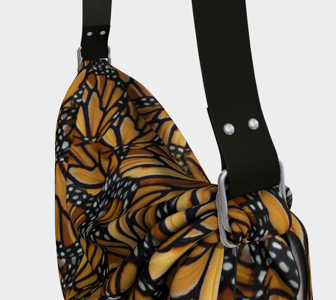 Monarch Butterfly Wing Mosaic Pattern preview #3