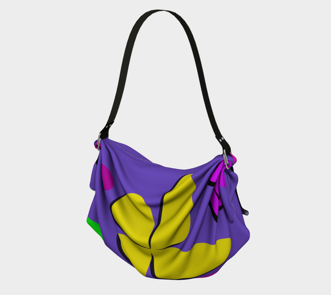 """Out of Mourning"" Origami Bag preview"