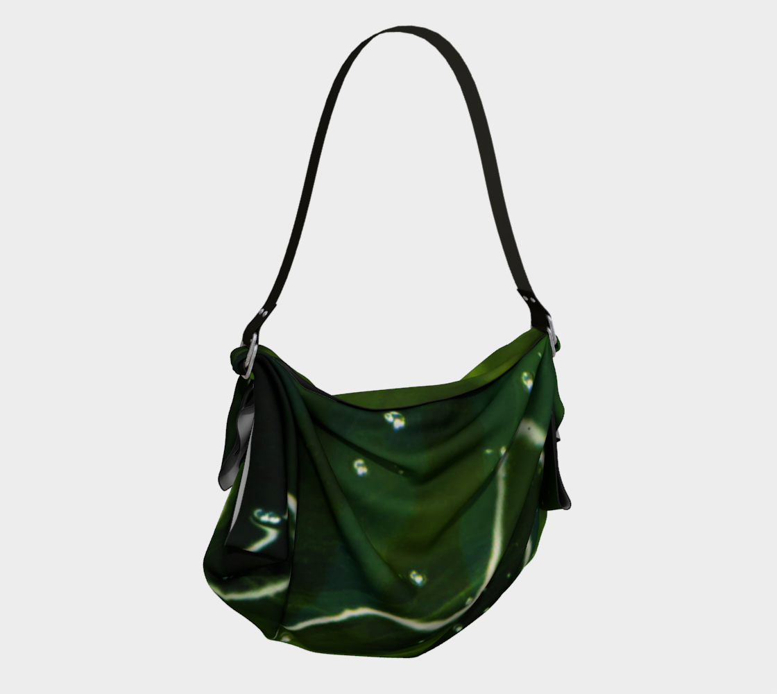 Green Algae and Water Origami Tote preview #2