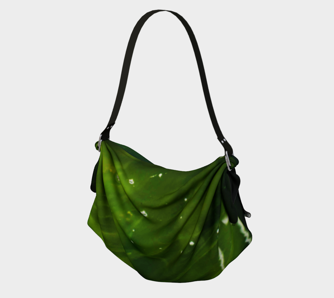 Aperçu de Green Algae and Water Origami Tote