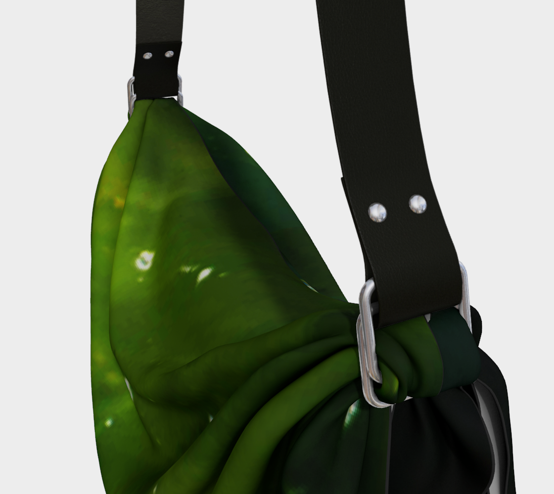 Green Algae and Water Origami Tote preview #3