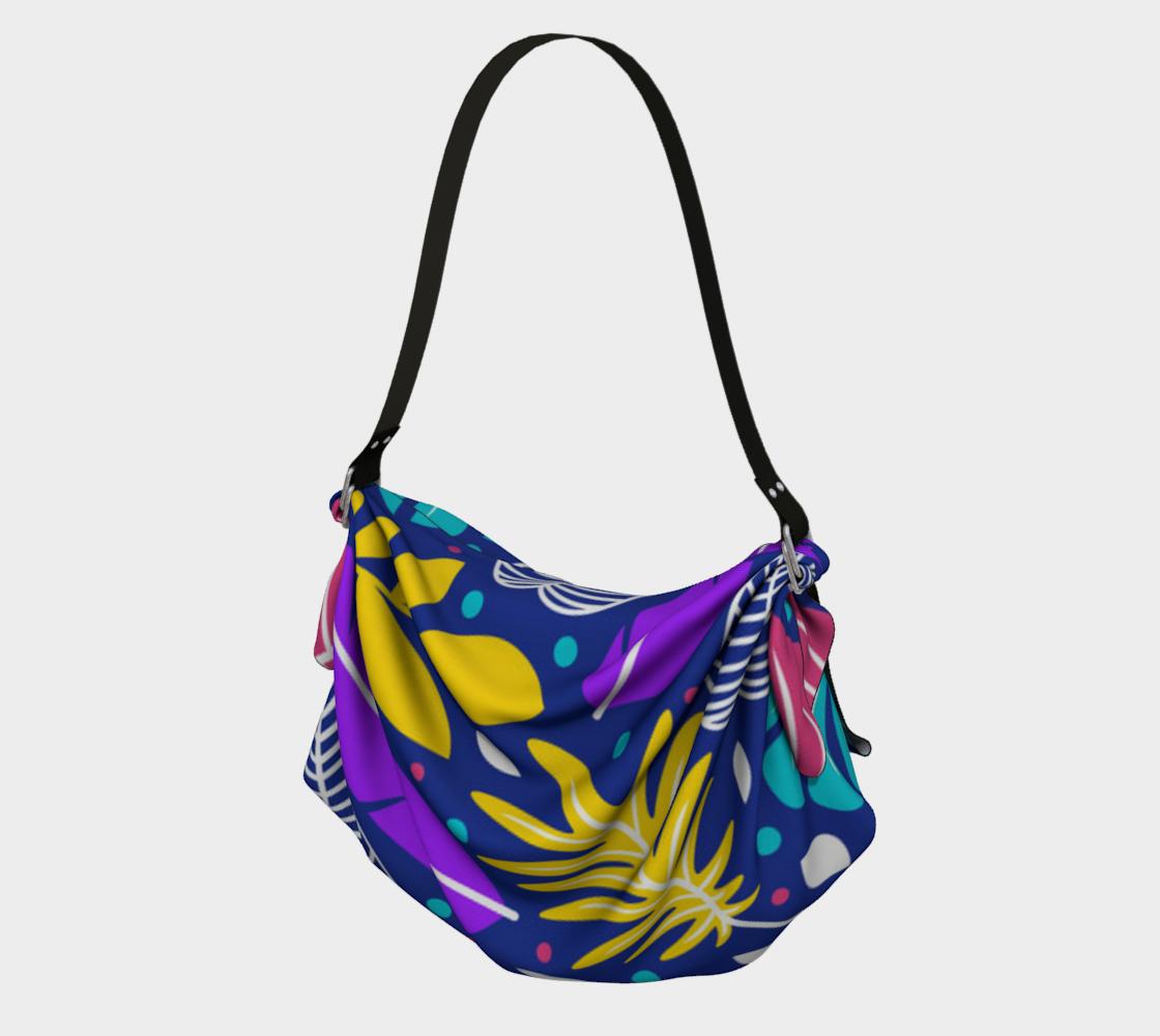 Aperçu de Colorful Tropical Print Tote