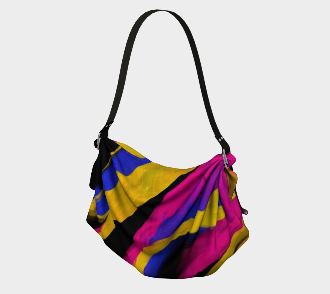 Aperçu de Fun Colorful Abstract Art Bag