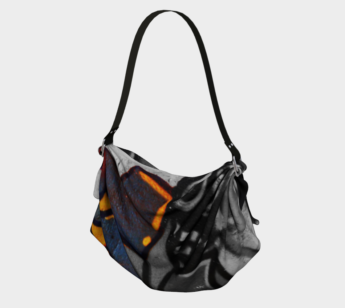 Graffiti 1 Origami Tote preview