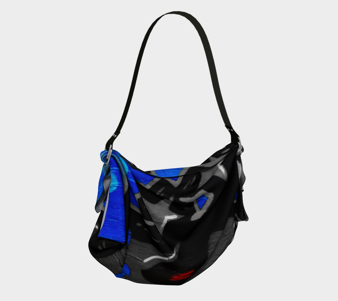 Graffiti 3 Origami Tote preview #2