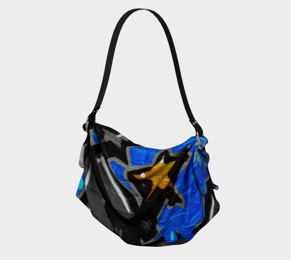 Graffiti 3 Origami Tote preview #1