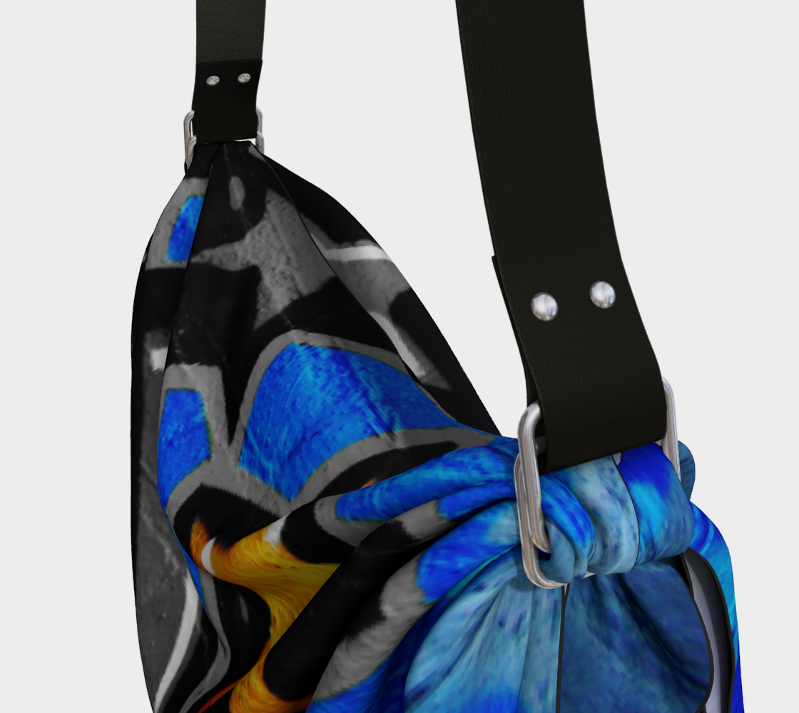 Graffiti 3 Origami Tote preview #3