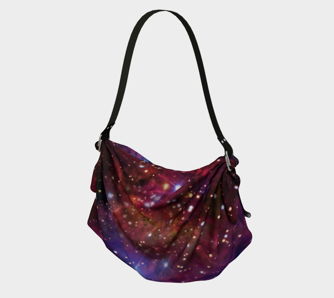 Origami Tote Bag - Cosmic Collection FoxFur Nebula preview