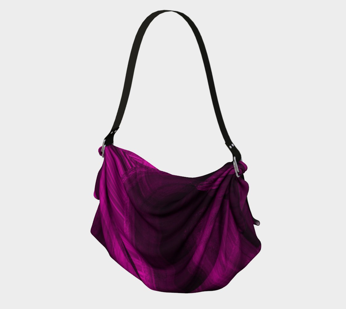 Pinkish Black Hole Origami Tote preview
