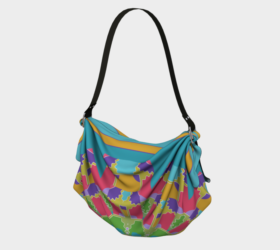 Turquoise Mandala Tote preview