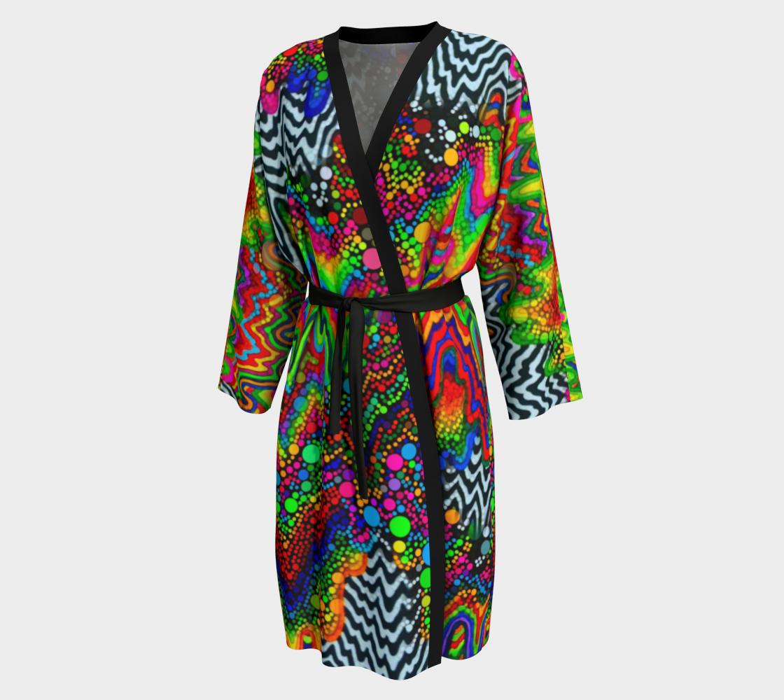 Trippy Drippy Dream Kimono preview
