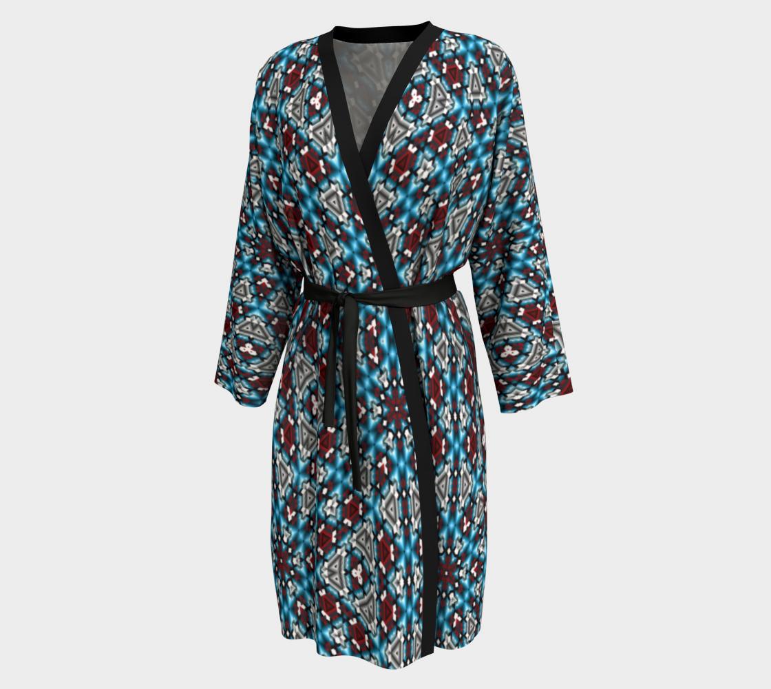 Aperçu de Southwestern Inspired Peignoir Robe