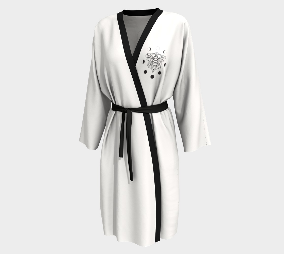 Moon Bee Robe - White preview