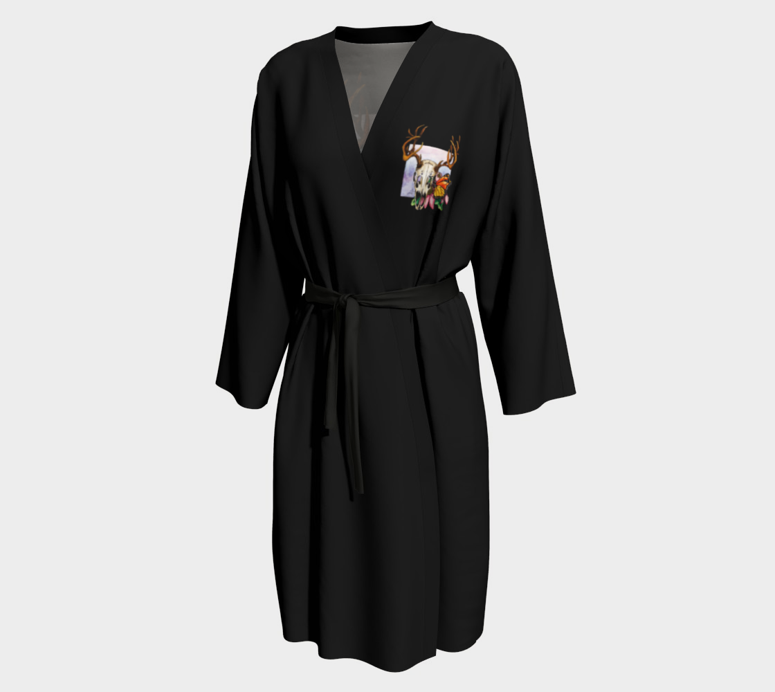 Deer Skull and Butterfly Robe preview