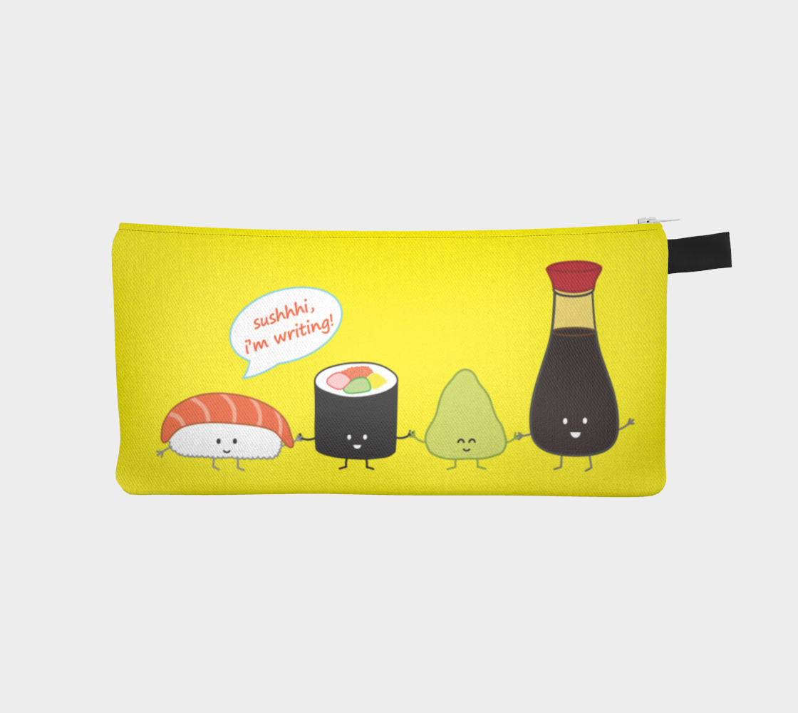 Sushi Pencil Case preview