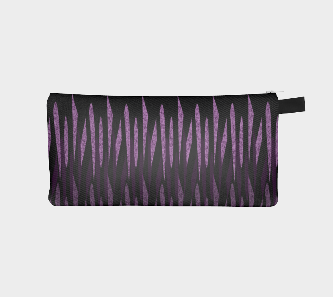 Purple Ice Abstract Pencil Case preview