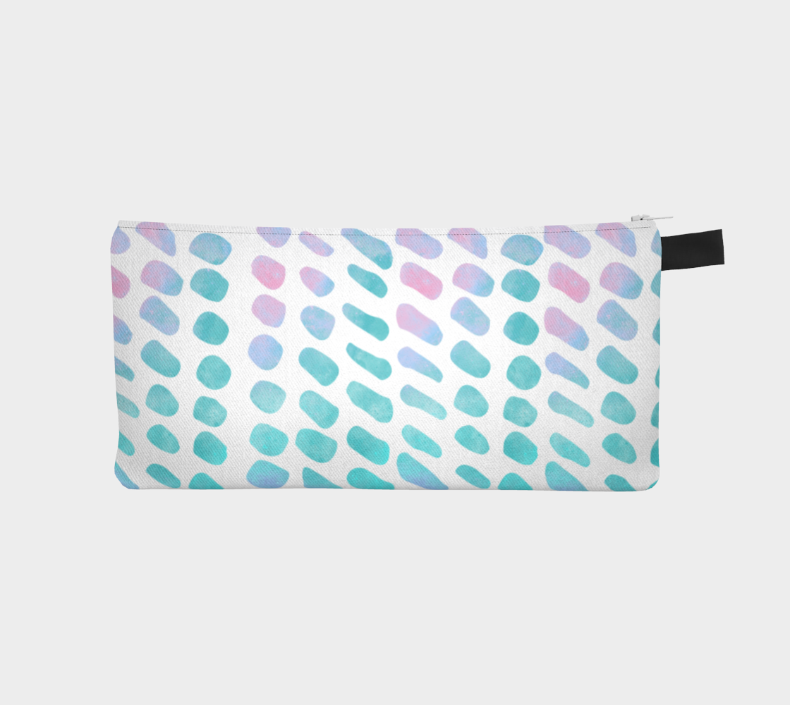 Pink and Blue Cotton Candy Pencil Case preview