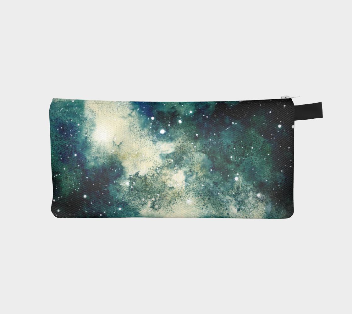 Bright Slash Galaxy Pencil Case aperçu