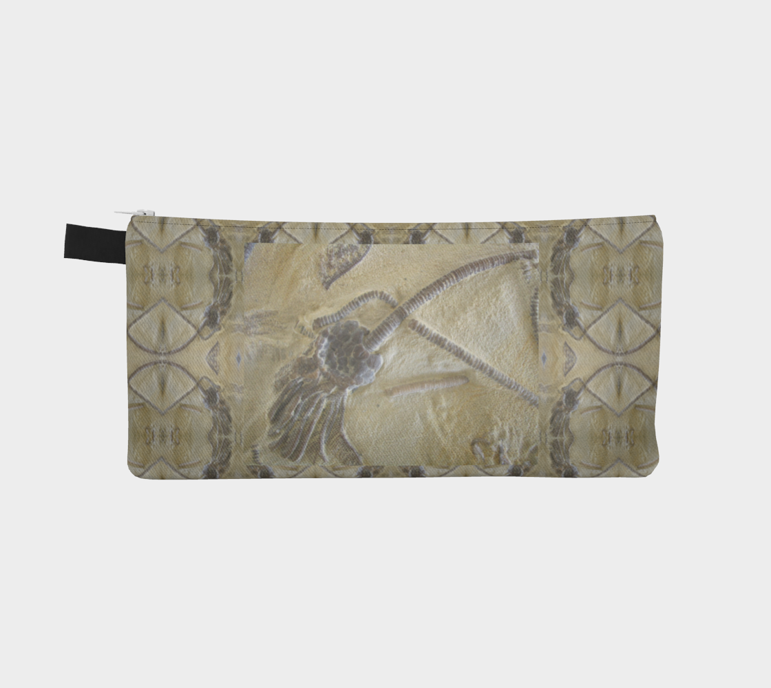 Fossil Crinoid Pencil Case preview #2