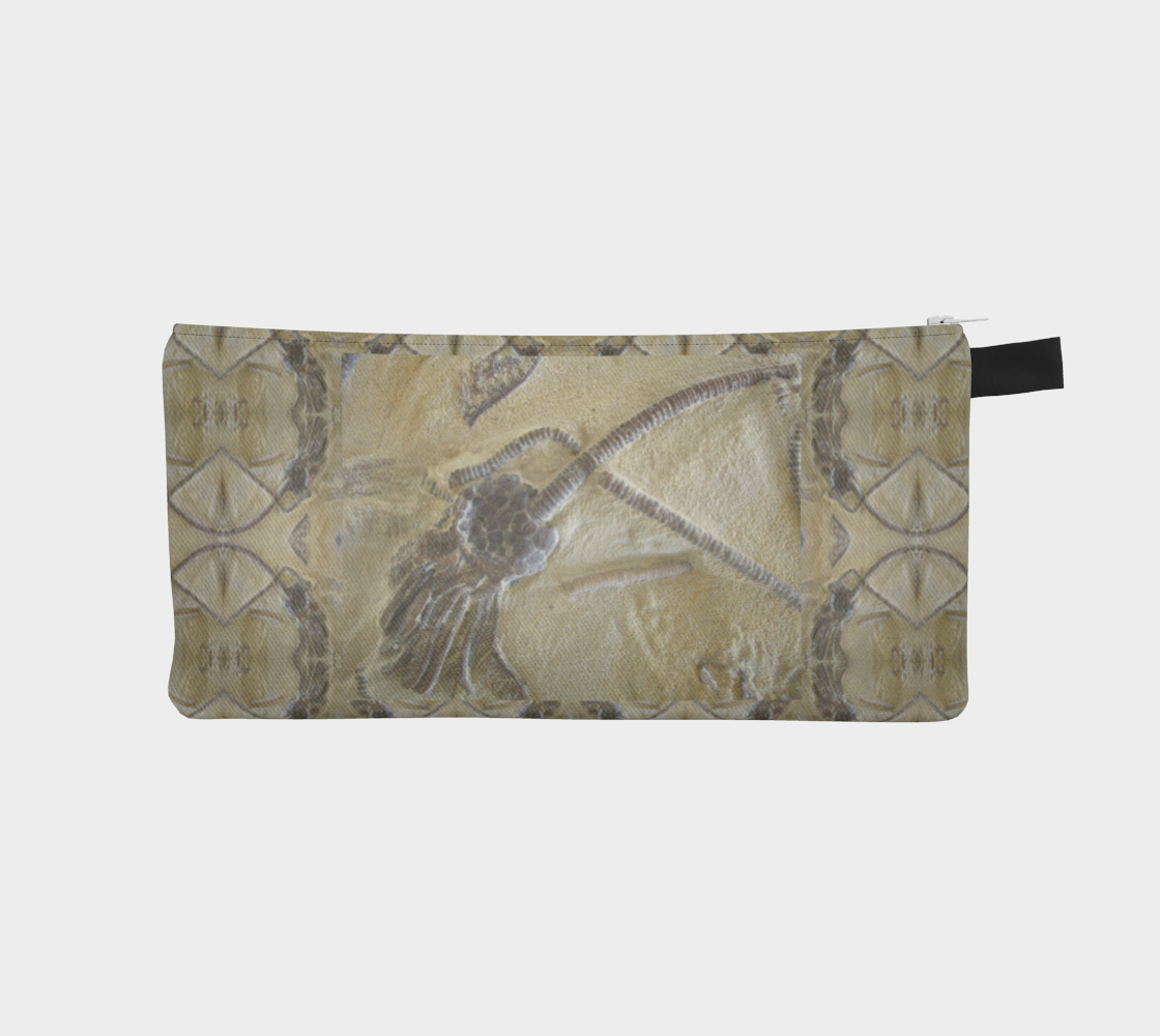 Fossil Crinoid Pencil Case preview