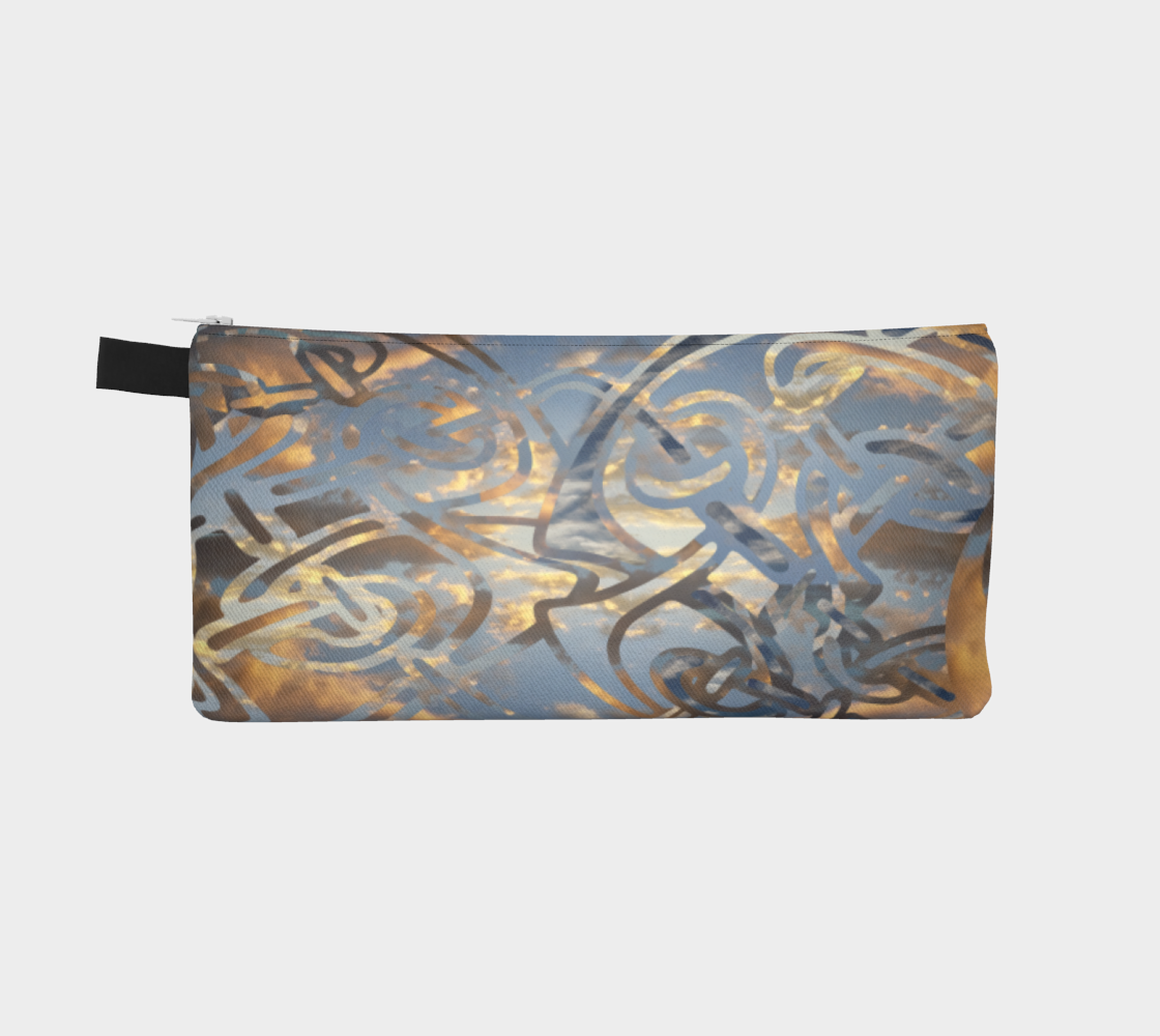 Swirling Celtic Sunset Pencil Case preview #2