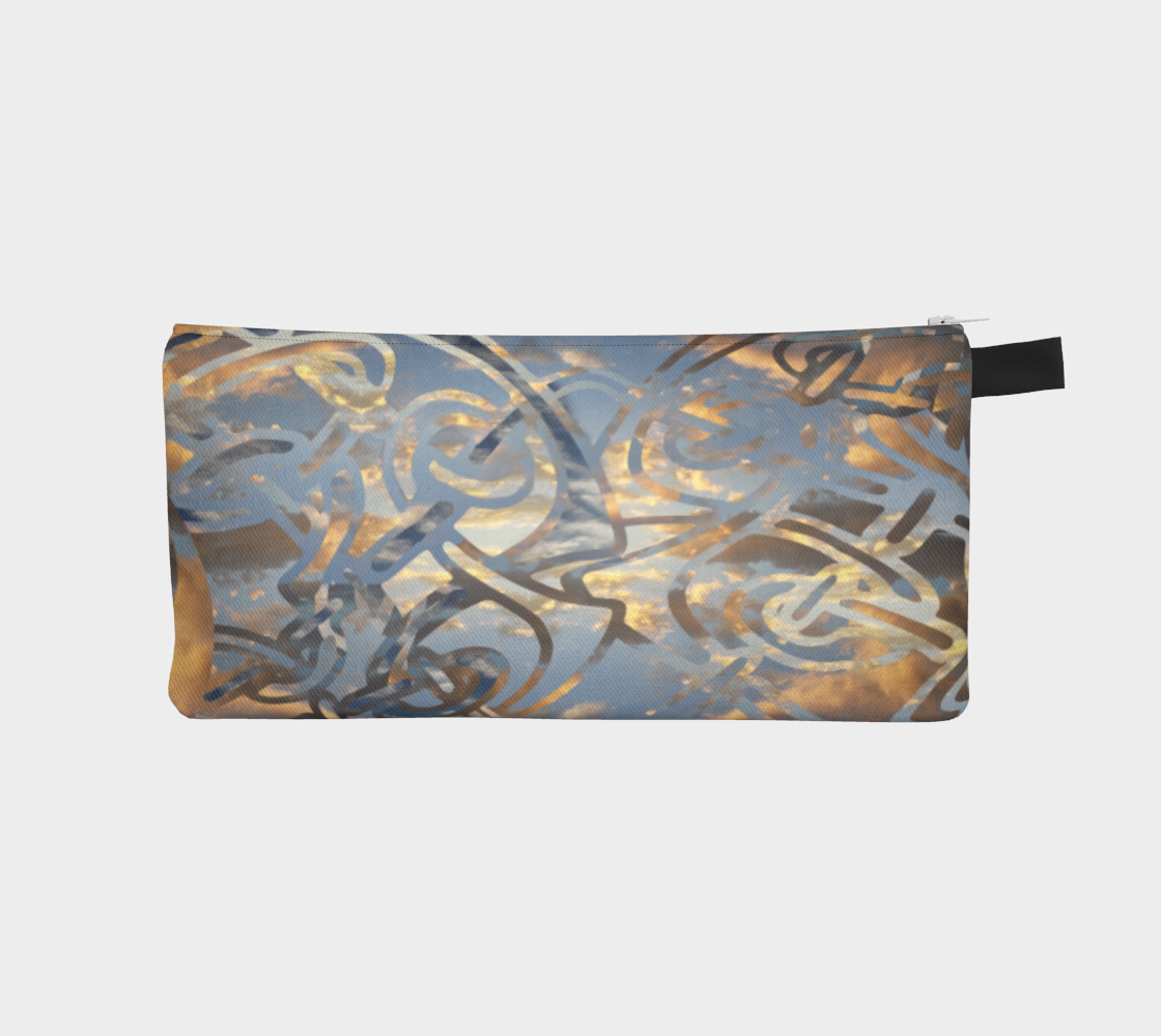 Swirling Celtic Sunset Pencil Case preview