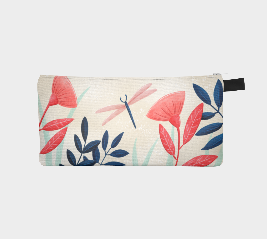 DragonFly - pencil case preview
