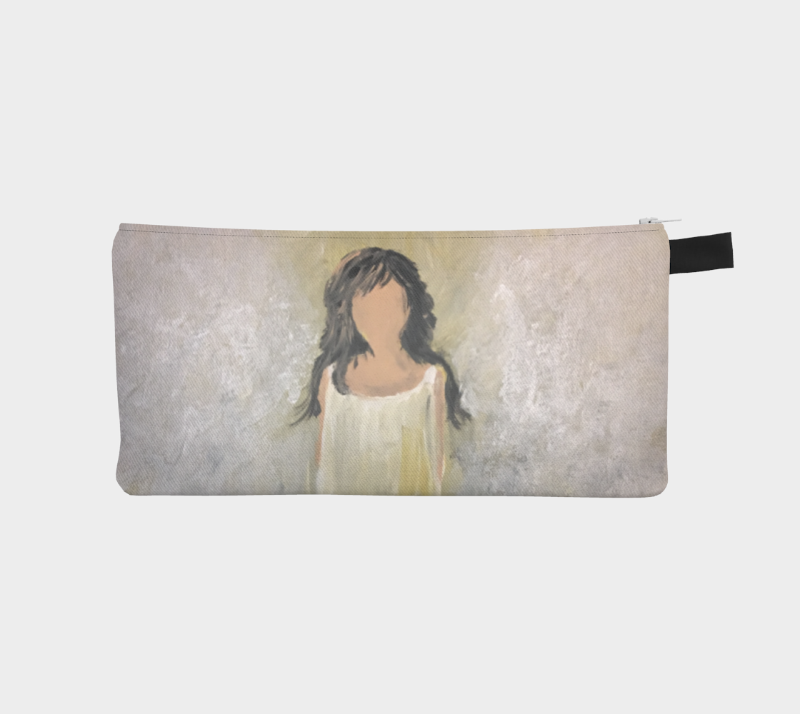 Angel Light Pencil Case by Karen Pedevilla preview