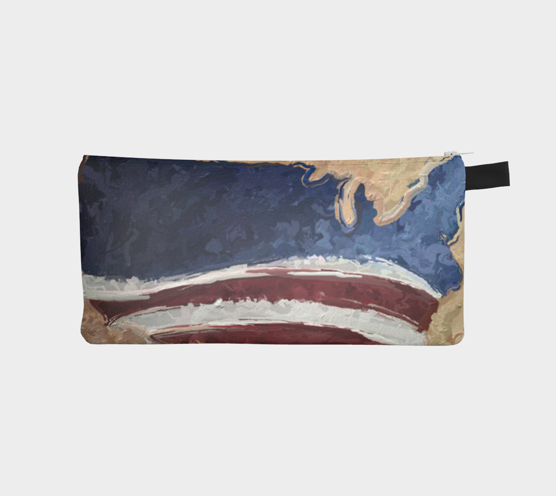 Amber Waves of Grain Pencil Pouch by Bryan Bromstrup preview