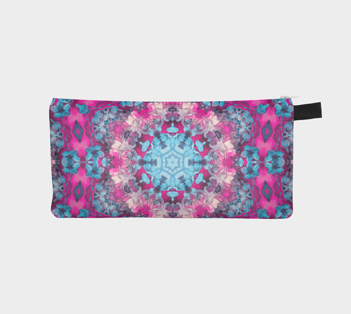 pink and blue art #pencilcase preview