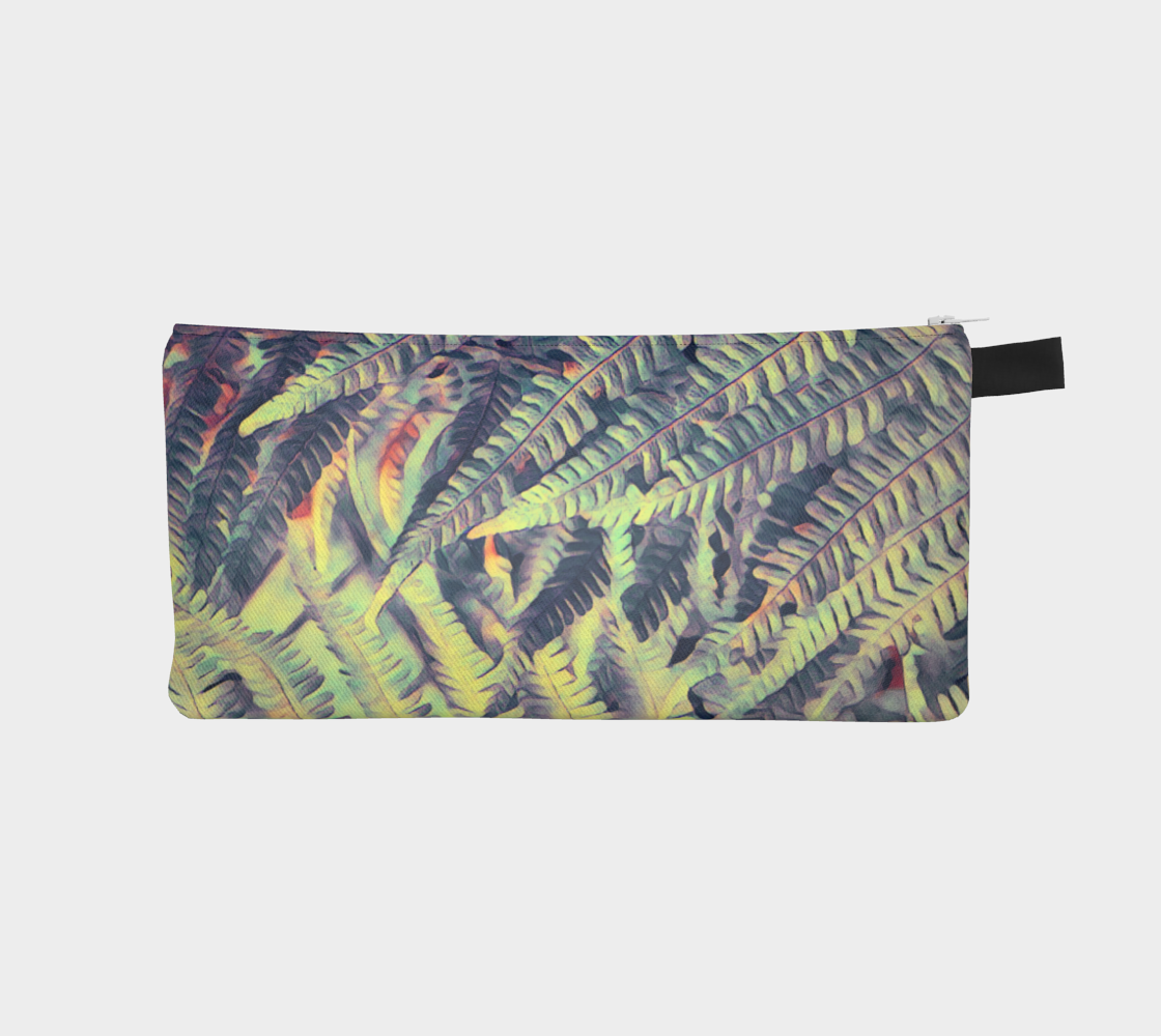 green ferns #pencilcase preview
