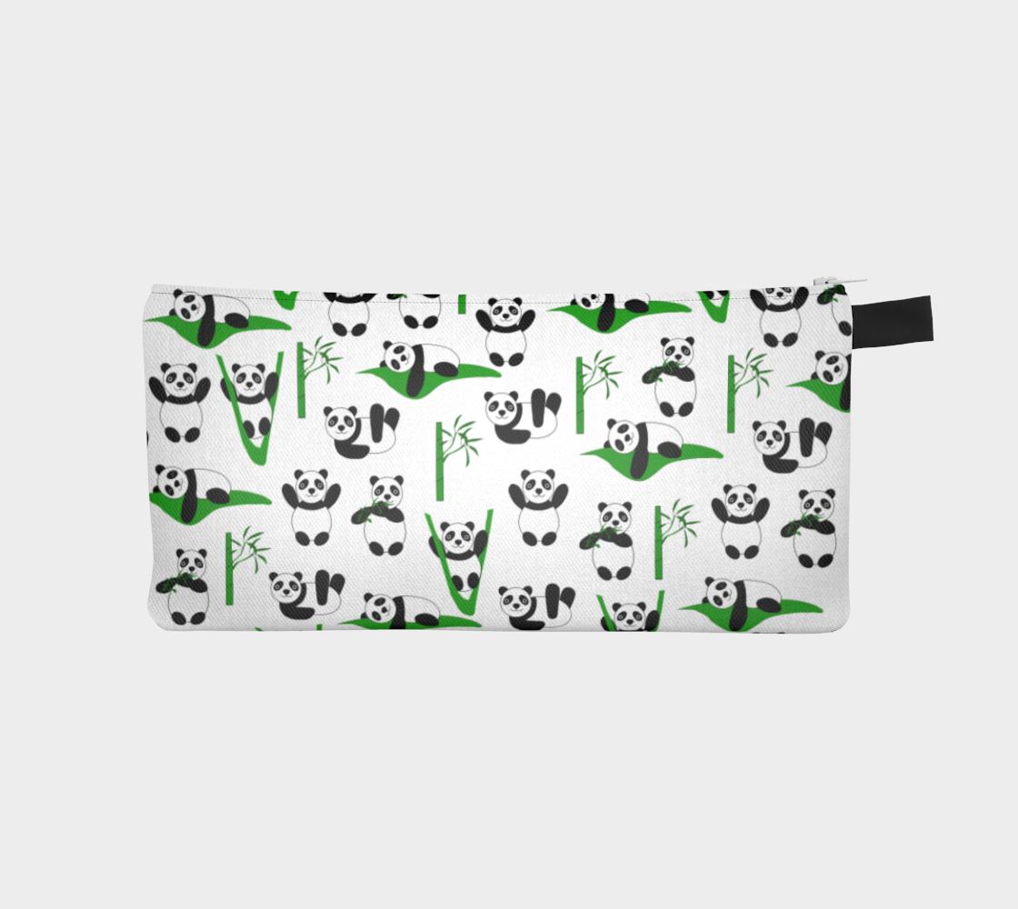 Funny pandas Pencil Case aperçu