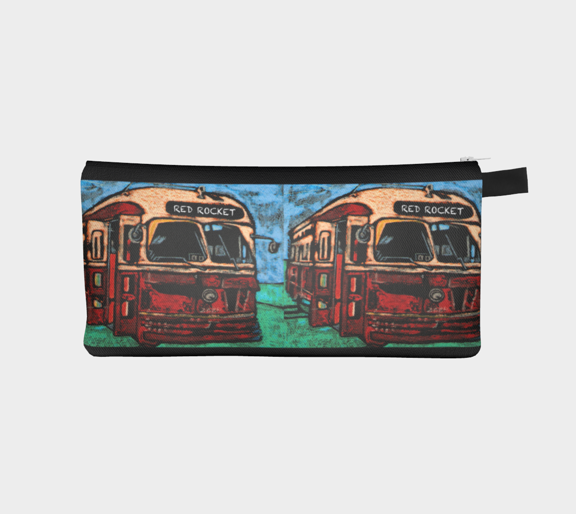 RED ROCKET PENCIL CASE preview