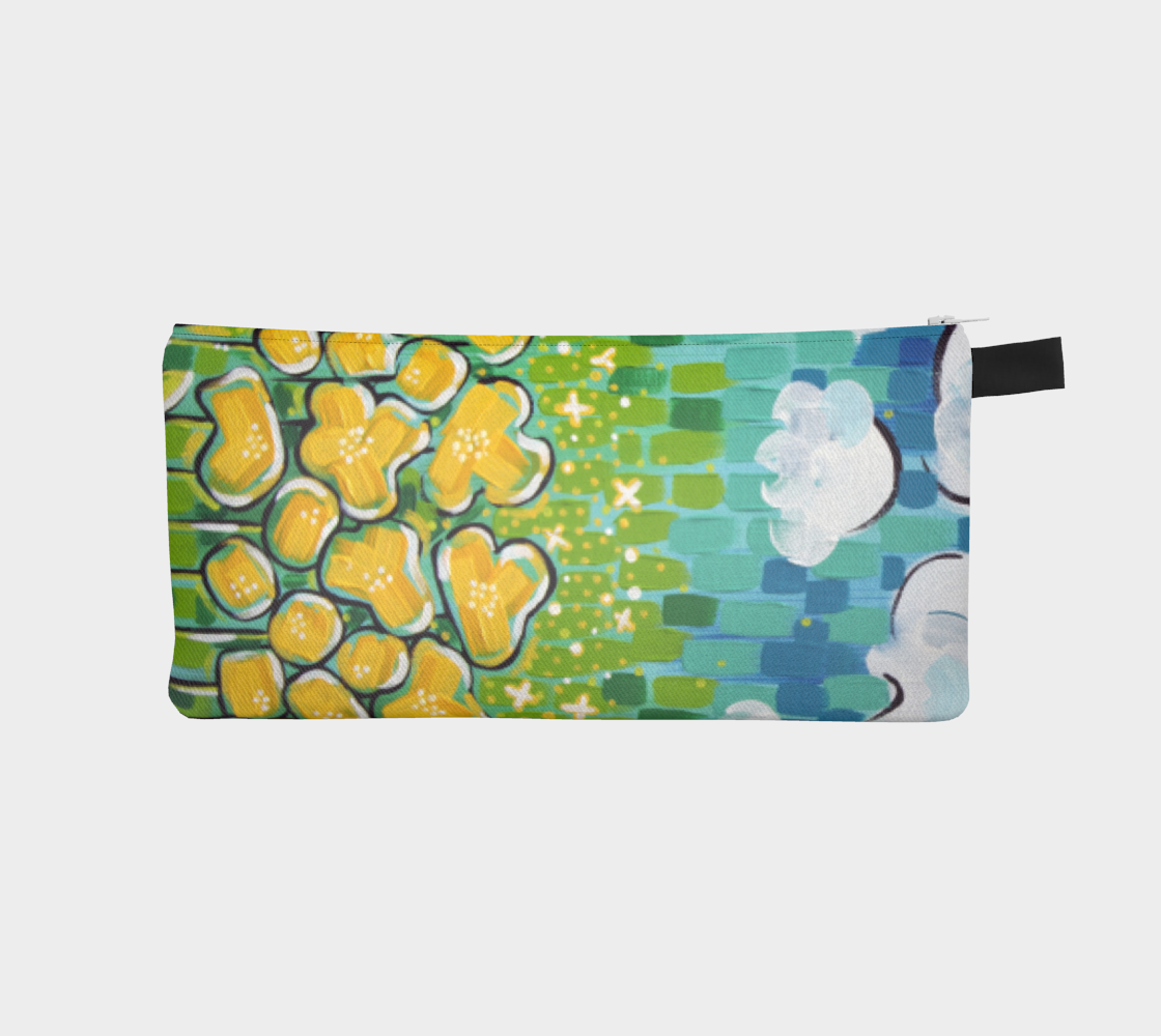 Big Sky Blooms (Painting) Pencil Case preview