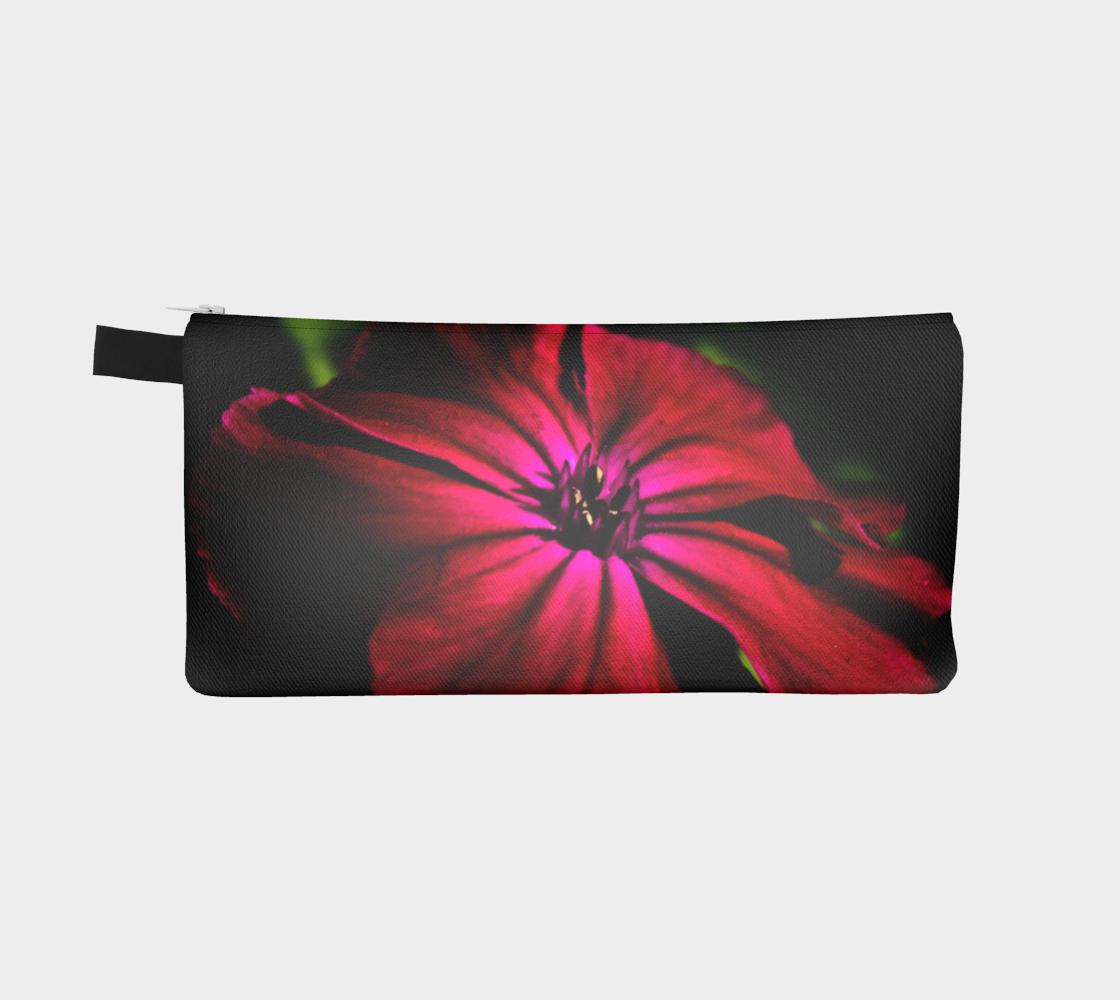 Purple Wild Flower Pencil Case preview #2