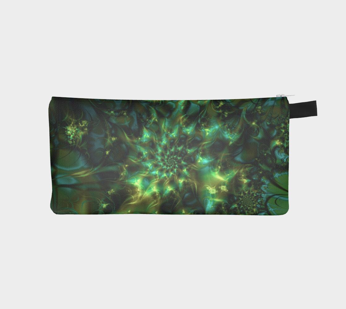 Cosmic Bud Cannabis Marijuana Art Pencil Case preview