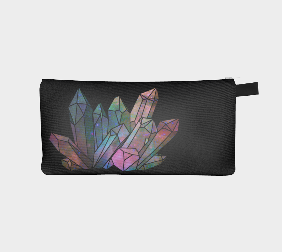 Cosmic Crystals Unicorn Rainbow Aura Pencil Case AOW preview