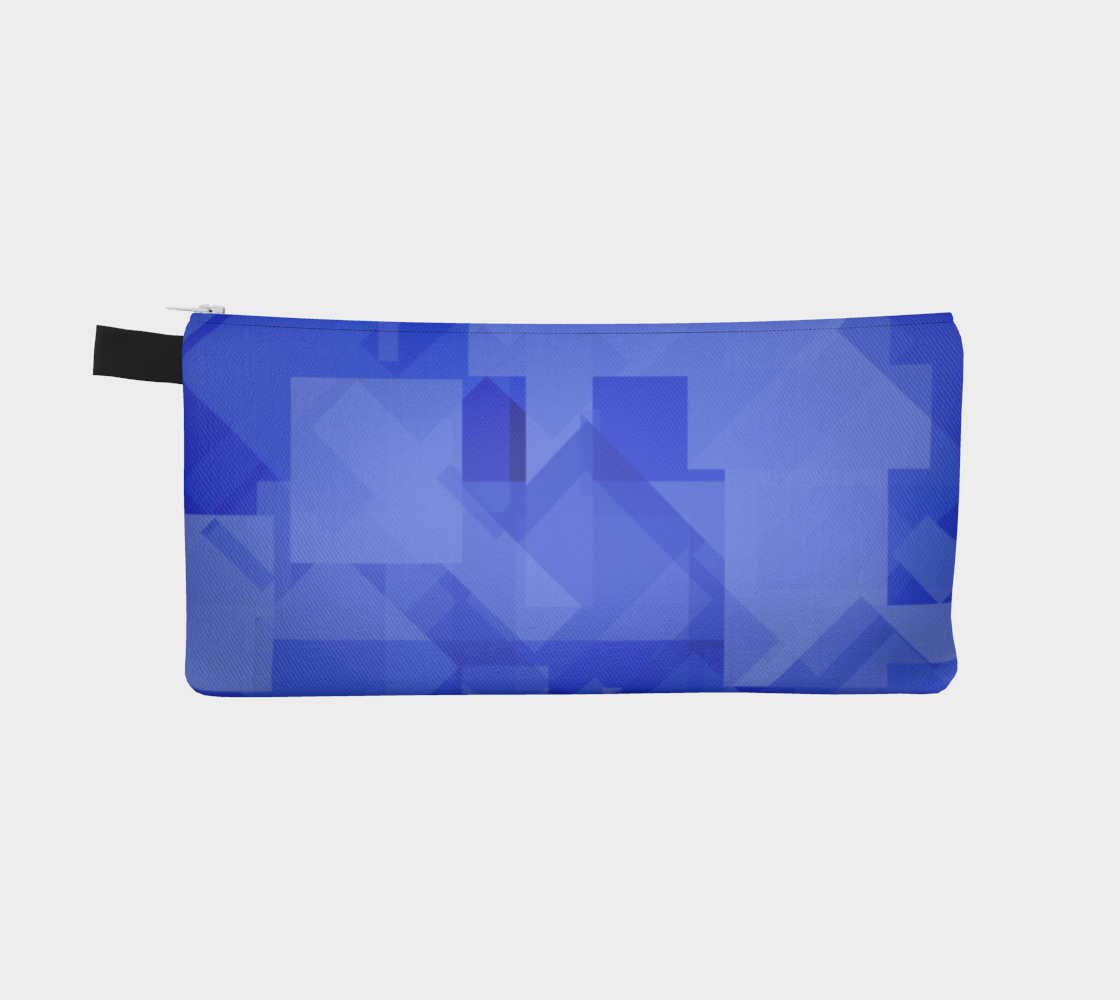 Blue is Better Pencil Case preview #2