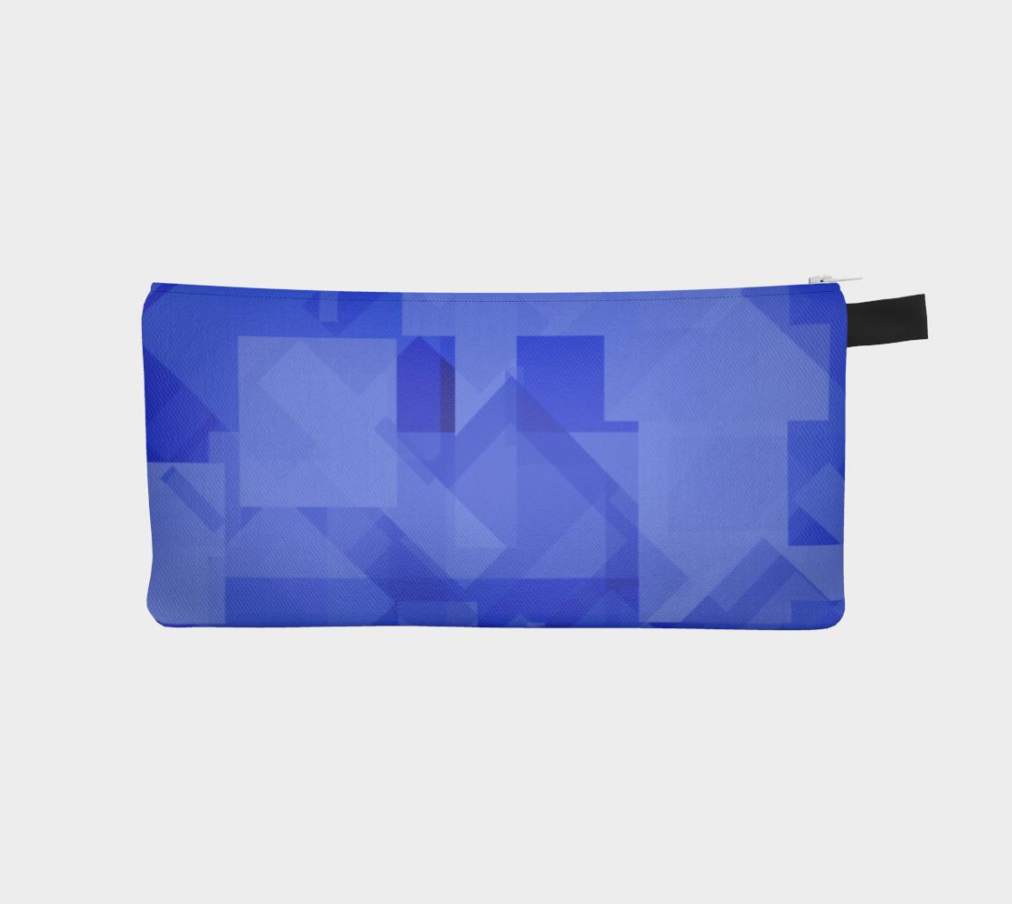 Blue is Better Pencil Case preview