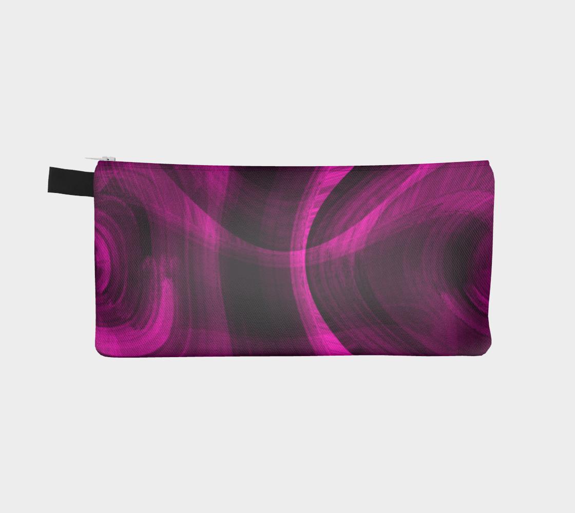 Pinkish Black Hole Pencil Case preview #2